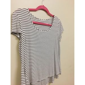 Stripped top, size S
